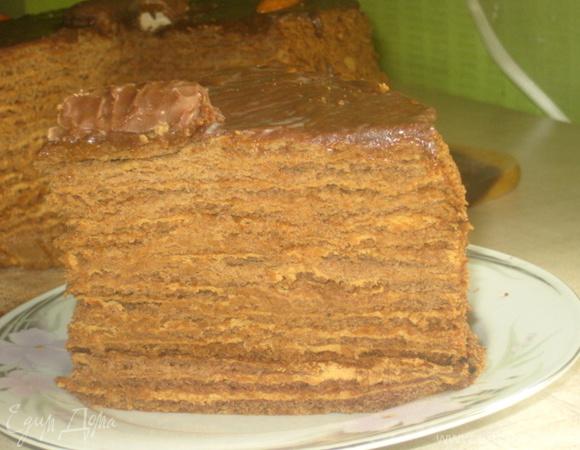 """Торт """"Кофе в шоколадных песках"""""""