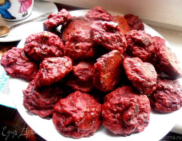 Эксклюзивное диетическое печенье из свеклы для Торюшки (без жиров!)
