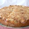 пирог с ревенем и миндалем