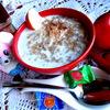 """Летний суп из 4-х злаков с яблоками и ревенем (""""Холодные супы"""")"""