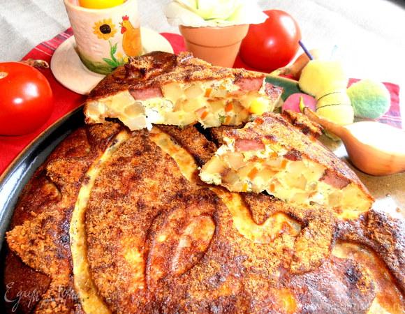 Картофельный пирог по-испански