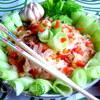 """Салат тeплый из рисовой лапши (""""Неделя японской кухни"""")"""