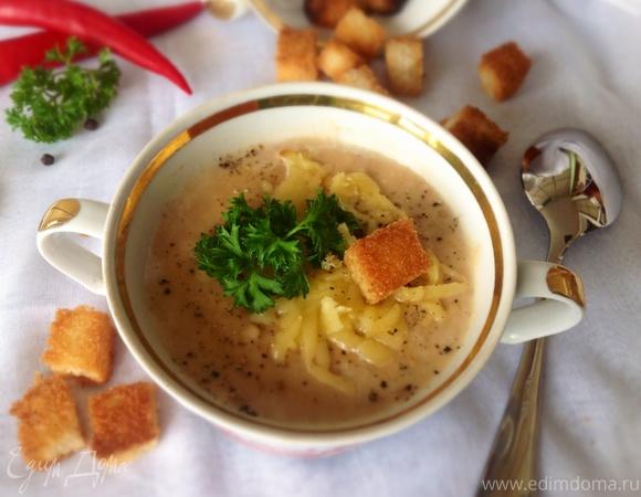 рецепт супа пюре из белой фасоли