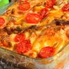 Лазанья с кабачками и помидорами с сыром Джюгас