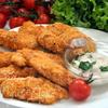 Куриное филе с беконом в сухариках