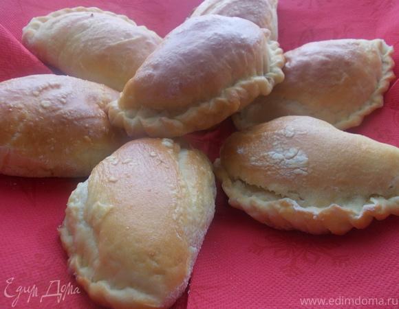 Домашние пирожки с куриной печенью