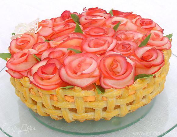 Торт «Миллион алых роз для Едим Дома»
