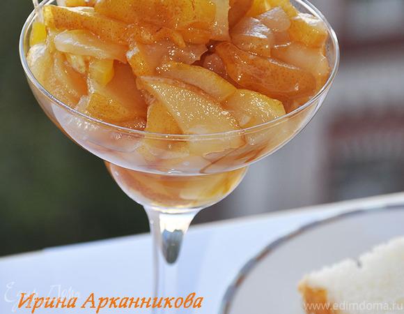 Лимонно-грушевое варенье с гвоздикой