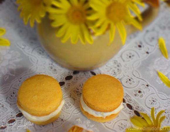 """Закусочное печенье """"Поцелуи дамы """" (Baci di dama)"""