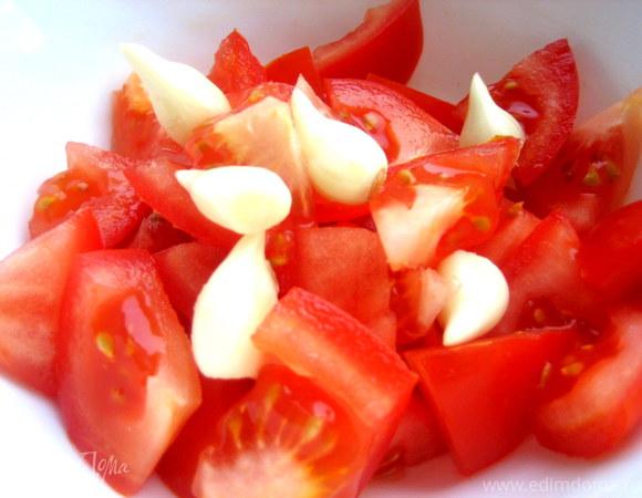 Жгучий томатный соус