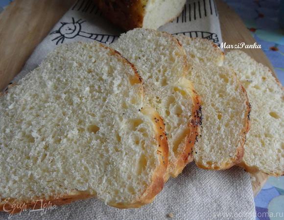 """Белый хлеб с пармезаном """"Шестое чувство"""""""