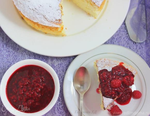 Торт-пирог «Пища ангелов» для Едим Дома
