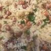 Рис с фасолью и беконом