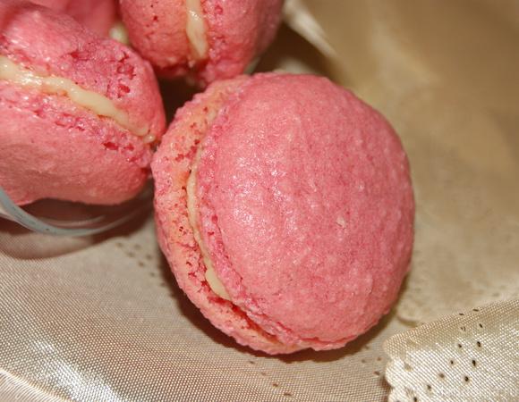 Макароны (Macarons) с белым шоколадом
