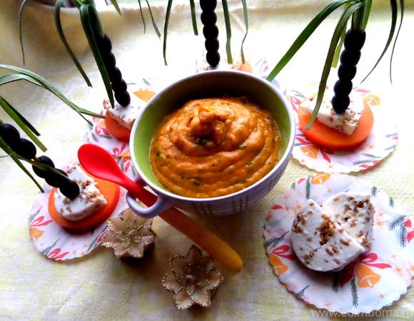 тыквенный суп пюре с сыром рецепт с фото