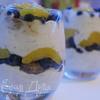 Йогуртовый пудинг с персиками