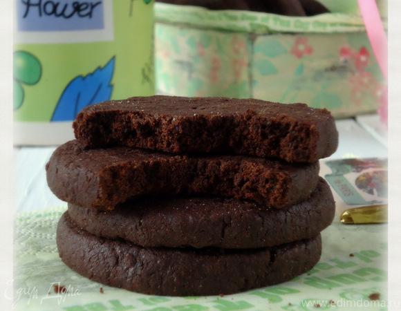 Домашнее шоколадное печенье