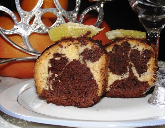Мраморный кекс