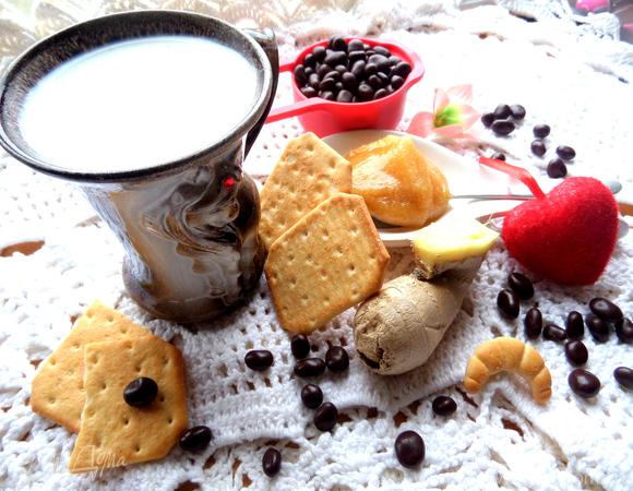Согревающее молоко с пряностями