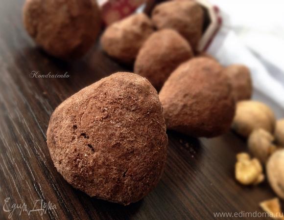 """Печенье """"Шоколадно-ореховый трюфель"""""""