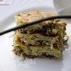 Пирог с молодой капустой и зеленью