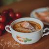 Сливочный суп из семги