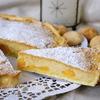 Открытый пирог с кремом франжипан (Crostata con crema Frangipane)