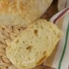 Хлеб без замеса в чугунке