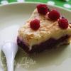 Малиновый тарт со сливочной заливкой