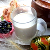 Топленое молоко в горшочках