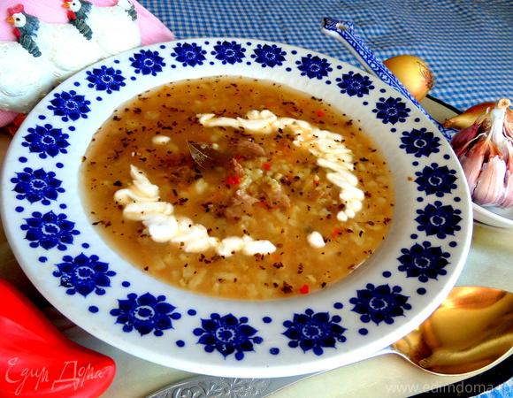 рецепт острый суп харчо рецепт с фото