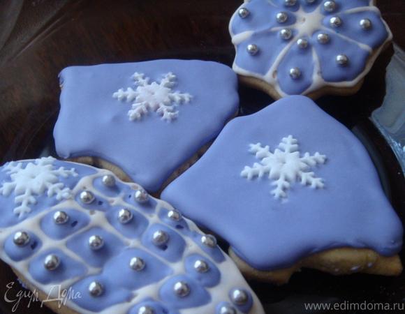 Ванильное рождественское печенье