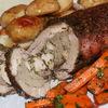 Фаршированное свиное филе