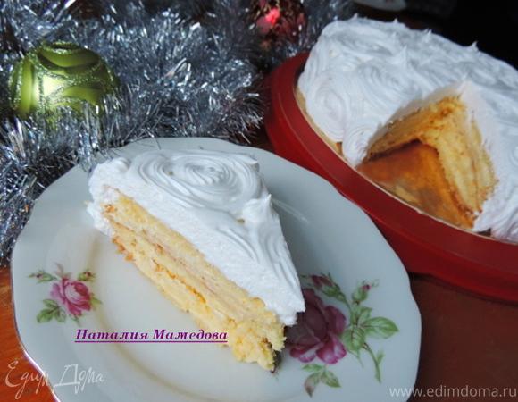 """Новогодний торт """"Зимняя сказка"""""""