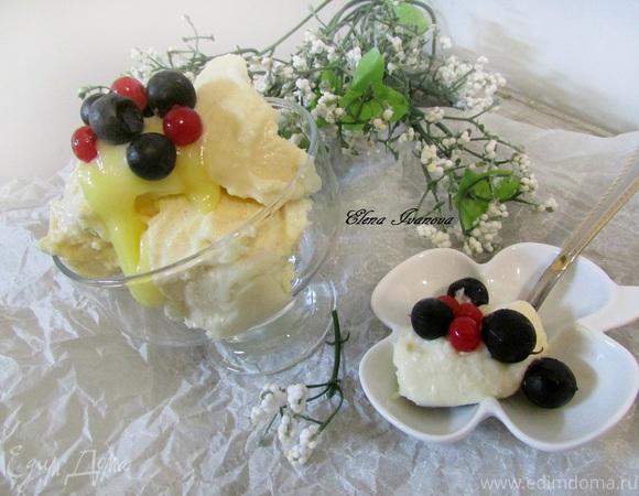 Фасолевое мороженое со вкусом лимона