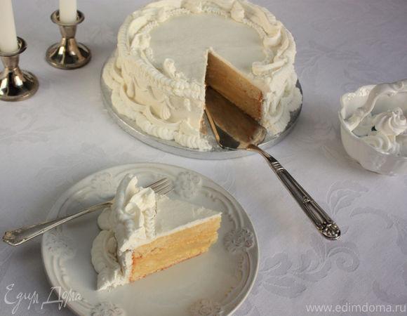 """Лимонный торт в стиле """"Ламбет"""""""