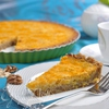 Тыквенный тарт с апельсином на ореховом тесте