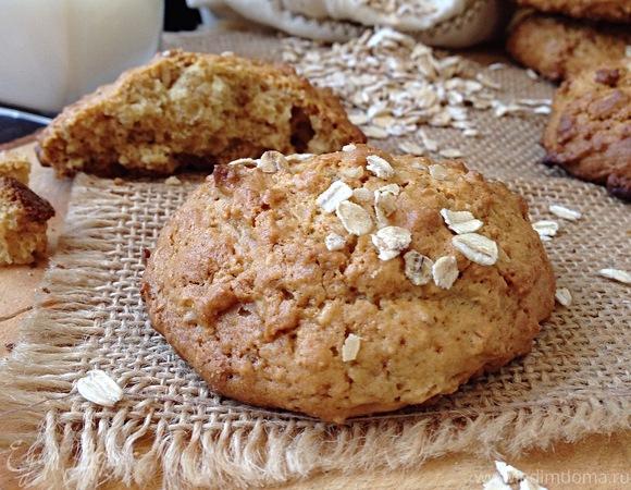 Овсяное печенье с мёдом