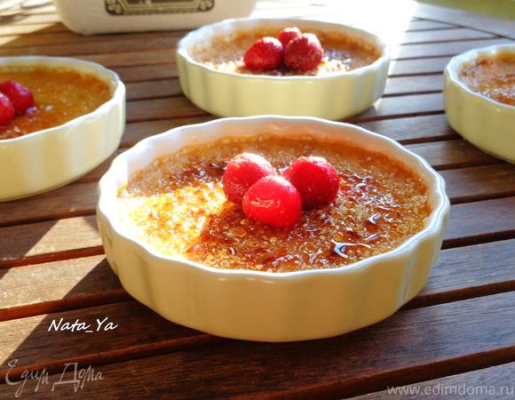 Классический крем-брюле (Crème Brûlée)
