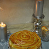 Пирог с тушеной в томате капустой
