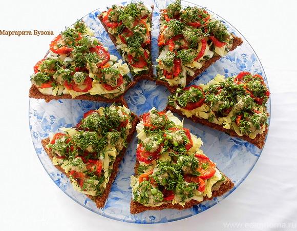 Сыроедческая пицца