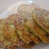 Оладьи из кабачков с рикоттой и зеленым луком