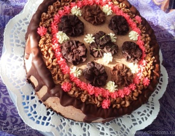 муссовый торт с малиной рецепт камелена