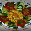 Салат «Летняя палитра»