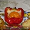 Лодочки из запеченного перца