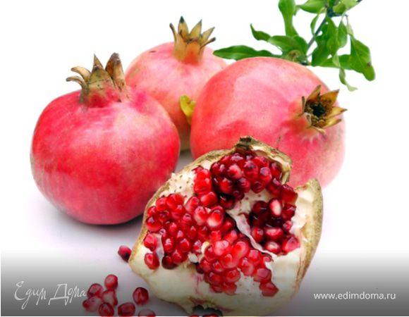 Гранат - ягода с короной