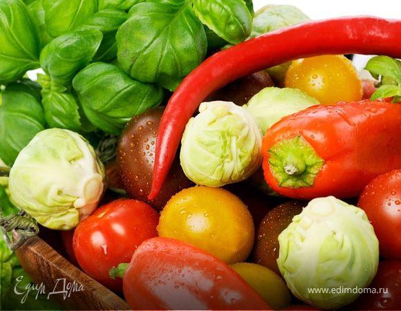 Как бланшировать овощи