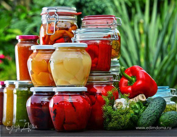 Летняя кладовая: маринады для консервирования овощей