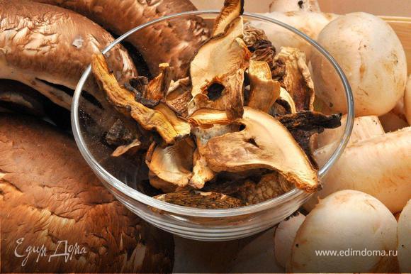 рецепт супа из свежих белых грибов от юлии высоцкой