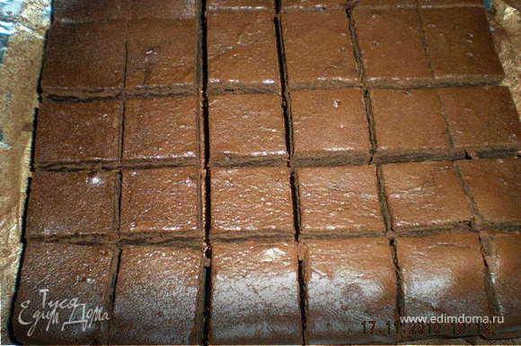 Смешать муку,какао,соль и отставить в сторонку... Растопить на водяной бане масло с шоколадом.... Взбитьв пышную пену яйца с сахаром,добавить к ним смесь из муки,шоколадную массу и пиво( пивная пена в мл. не считается,дождитесь пока осядет или уберите её ложкой) Всё хорошенько перемешать и вылить в форму предварительно застеленную фольгой. Всё.... отправляем в разогретую духовку,на среднюю полочку...минут на 20-30.... проверяем зубочисткой...Главное не передержать ,на палочке при проверке должно налипнуть немного теста...это хороший знак!!! Вытаскиваем,остужаем,нарезаем....